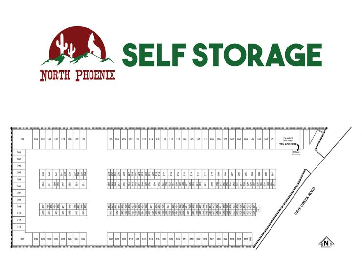 North Phoenix Self Storage Cheap Self Storage Near 85020